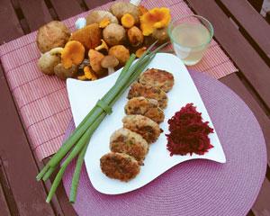 Kotlety mięsno-grzybowe