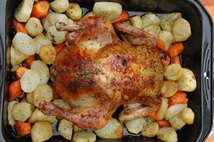 Nadziewany kurczak