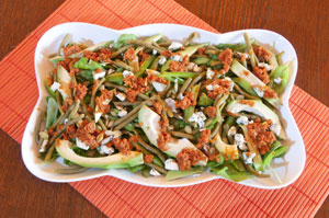 Zielona sałatka z awokado