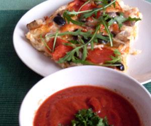 Pizza z oliwkami