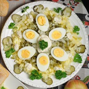Ukraińska sałatka ogórkowa